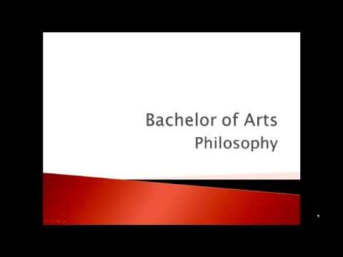 Bachelor of Arts in Philosophy