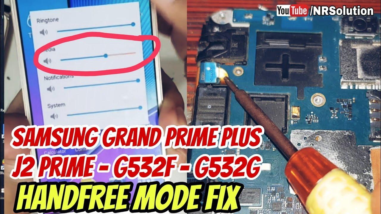Samsung Grand Prime Plus J2 Prime G532f G532g Handfree Mode Fix Urdu Hindi Youtube