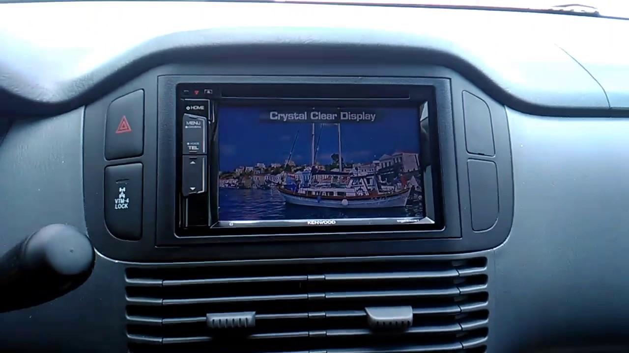 Face Car Stereo Upgrade Honda Pilot 03