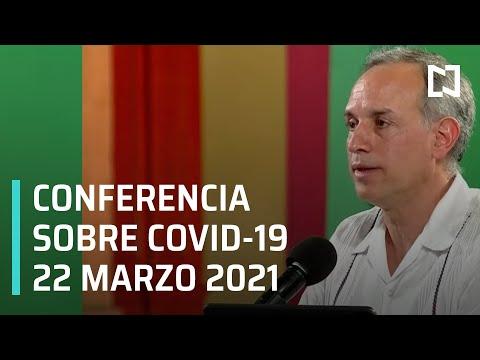 Informe Diario Covid-19 en México - 22 marzo 2021