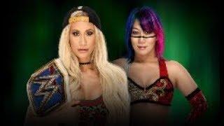 WWE MONEY IN THE BANK 2018 - CARMELLA VS ASUKA