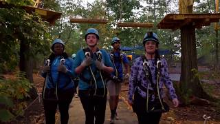 Night Climb and Zip | Bronx Zoo Treetop Adventure