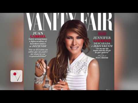 Melania Trump Raises Eyebrows, Appears on Vanity Fair Mexico