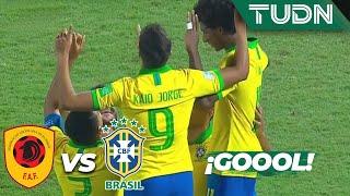 ¡Magno rompe el cero! | Angola 0 - 1 Brasil | Mundial Sub-17 | G - A | TUDN