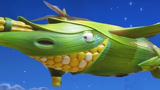 plants vs zombies garden warfare 2 fly the butterhawk agent corn secret mission