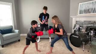 Parker and Payton review Armogear Boxing Battle (w/ special guest Nico)