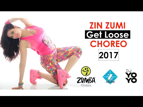 New Zumba Choreo - Get Loose By Sohanny & Vein - Zin Zumi