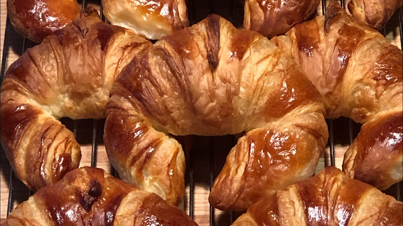 How To Make Croissants At Home Youtube