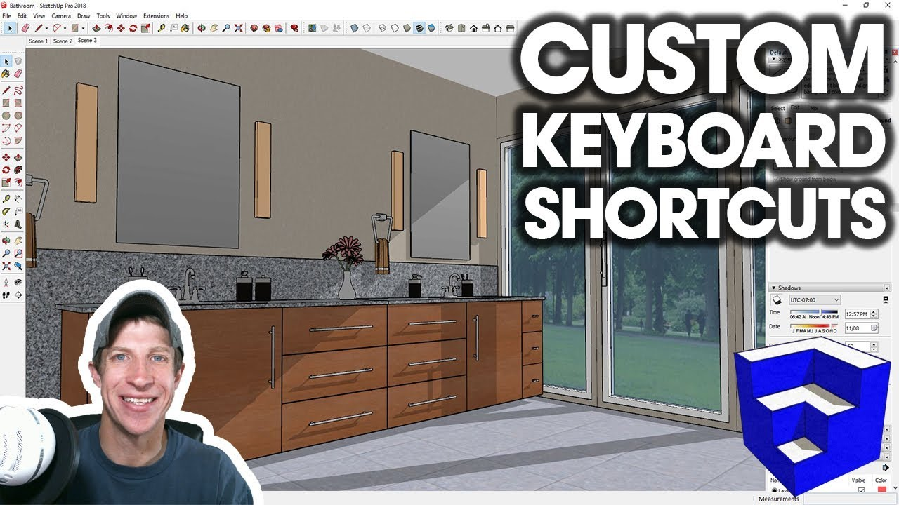 CUSTOM Keyboard Shortcuts in SketchUp - The SketchUp Essentials