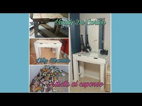 Hice mi Vanity con Carton y Fui Adicta al Cuponeo Extremo !!!