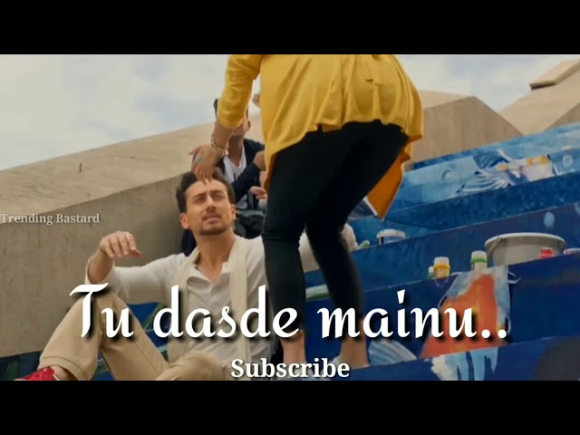 Soniye Dil nayi lagta WhatsApp status video | Baaghi 2 | songs | Tiger Shroff | Disha patani |
