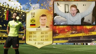 THE MOST AMAZING START EVER TO FIFA 17 ULTIMATE TEAM! INSANE WALK OUT PACKS! + TOTW INFORMS!!