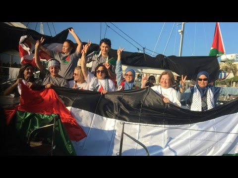 Women's Boat to Gaza: 13 Activists Detained by Israel, Weeks After U.S. OKs $38B in Military Aid