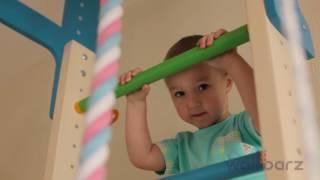 видео шведская стенка для детей в квартиру