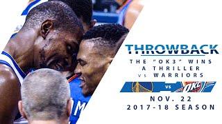 FOX Sports OKC Broadcast: Warriors @ Thunder - Nov. 22, 2017 (2017-18 Season)
