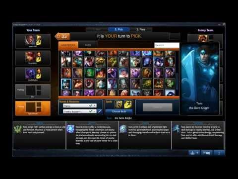 League of Legends Gameplay Commentary: Forgot The Post-Game Screen