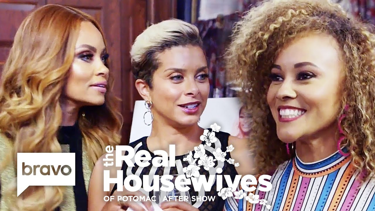 Download How The Potomac 'Wives Found Out Ashley Darby Was Pregnant | RHOP After Show (S4 Ep18)