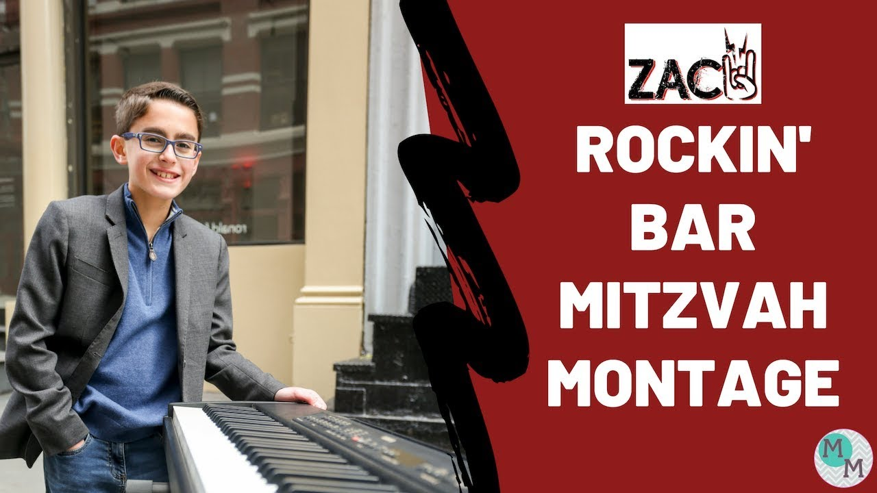 Zachary's Rock-Themed Bar Mitzvah Montage