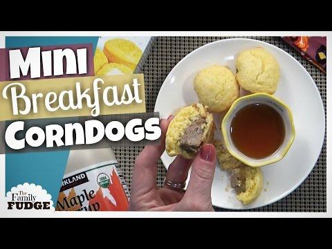 MINI BREAKFAST CORN DOGS    FUN Breakfast for KIDS