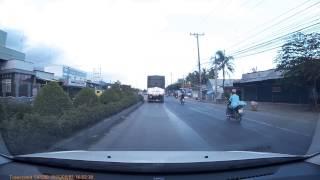 Tai nạn giao thông gần ngã ba Cái Bè