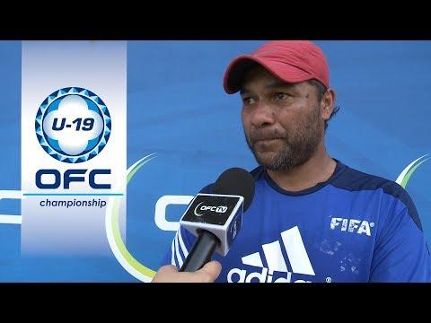 Post Match Interview - Fiji v New Caledonia