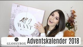 WAAAAS?! 🙀 Lohnt sich das für so viel Geld?! 🤨 Glossybox Adventskalender 2018