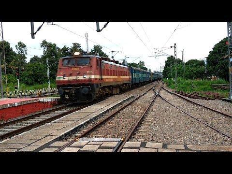 Trivandrum - Veraval Express Announcement @ Tiruvalla