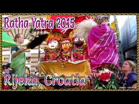 RIJEKA RATHA YATRA 2015 (CROATIA)