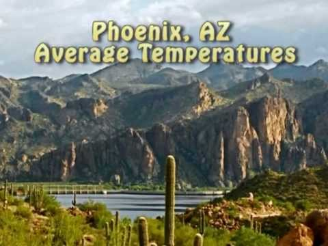 Average Monthly Temperatures In Phoenix Guess The Year Average - Average winter temperature in arizona