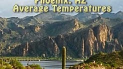 Average Monthly Temperatures in Phoenix | Guess The Year Average Max Temperature!