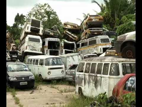Veículos retidos no Detran