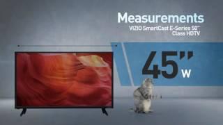 """All-New 2016 VIZIO E50-D1 SmartCast™ E-Series 50"""" Class HDTV // Full Specs Review  #VIZIO"""