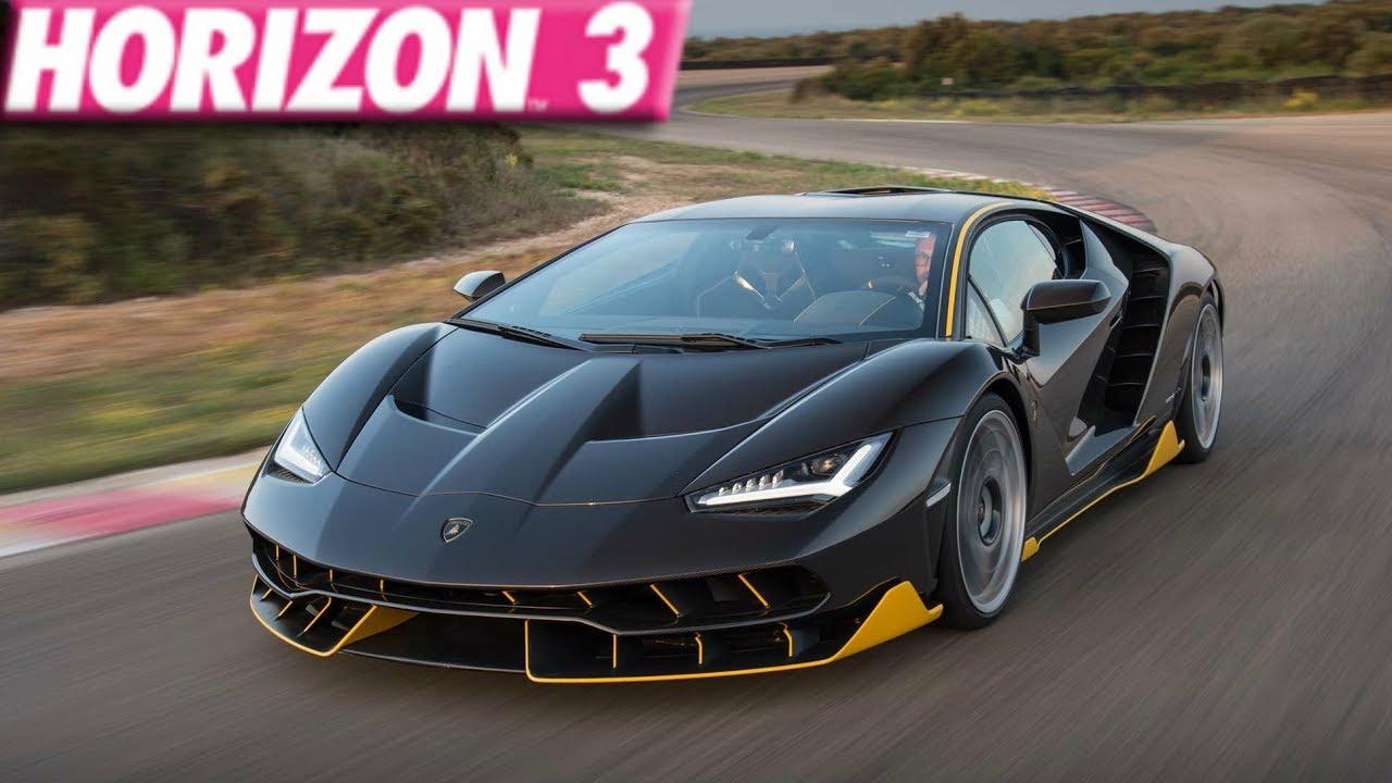 Forza Horizon 3 270 MPH Lamborghini Centenario Build