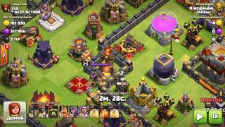 Clash of Clans attack three in a row request