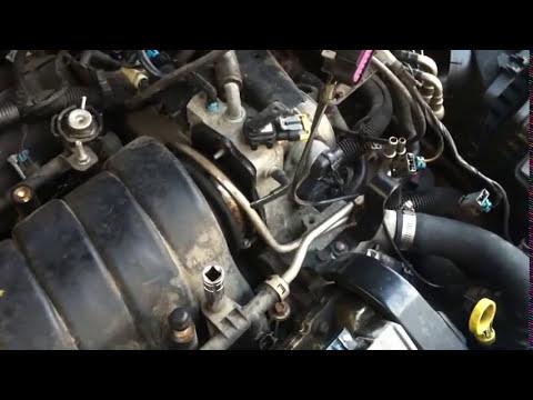 vacuum leak repair on cadillac northstar engine  YouTube