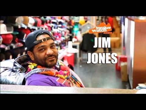 Jim Jones Shouts Out Harlem's Biggest Sneakerheads