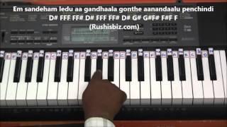 Em Sandeham Ledu (Piano Tutorials) - Oohalu gusa gusalade movie | DOWNLOAD NOTES FROM DESCRIPTION