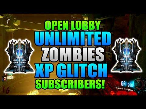 Black Ops 3 Zombies Master Prestige Glitch - Open Subscriber Lobby! (BO3 Zombies Xp Glitch)