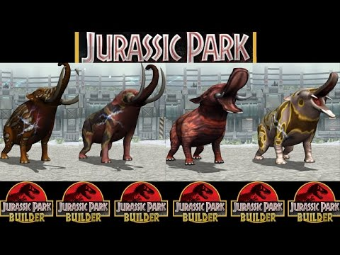 ELEPHANT GLACIER - TOURNAMENT || Jurassic Park Builder