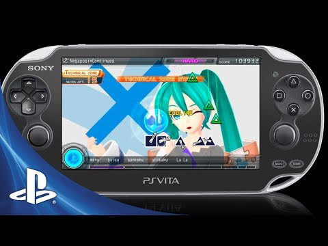 Hatsune Miku: Project Diva f on PS Vita