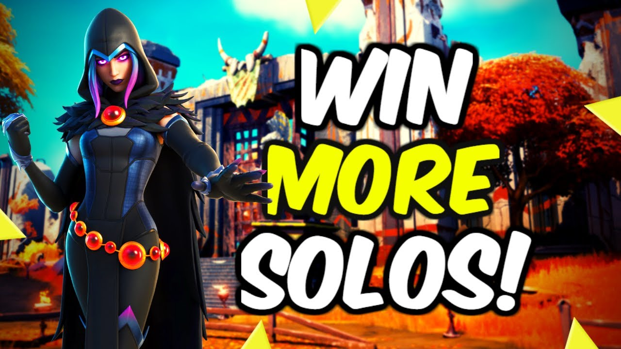 Is It Hard To Win Solo In Fortnite How To Get More Solo Wins In Fortnite Chapter 2 Season 6 Youtube