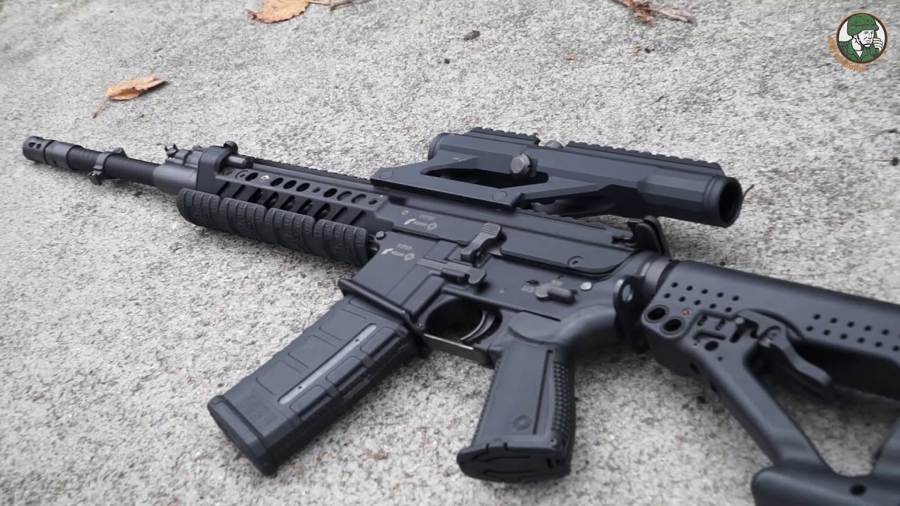 Rheinmetall and Steyr Mannlicher have developed a new RS556 automatic rifle 24