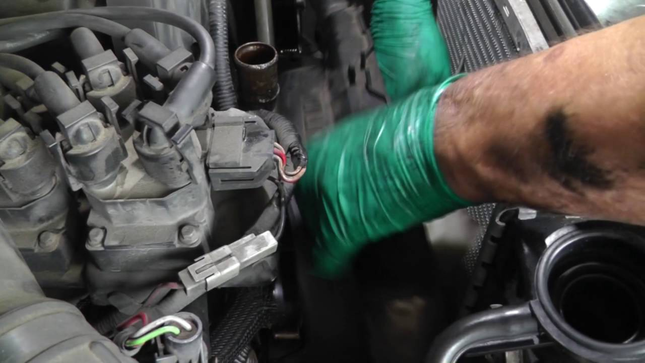 Ford Ranger Complete AC Repair, Removing AC Components