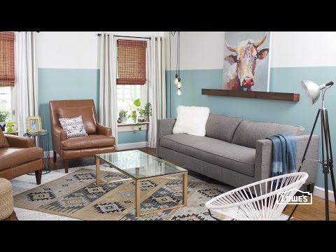 Weekend Makeover: Living Room