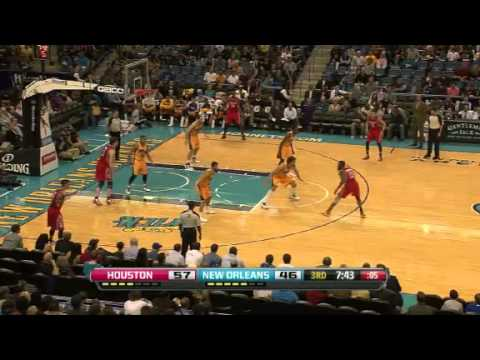 Rockets vs. Hornets | Game Recap  | NBA 2012-13 Season 25/01/2013