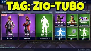 FORTNITE SHOP today May 19new snares VERSA, ETHER , JOHN WICK and DIFENSORE SCARLATTO
