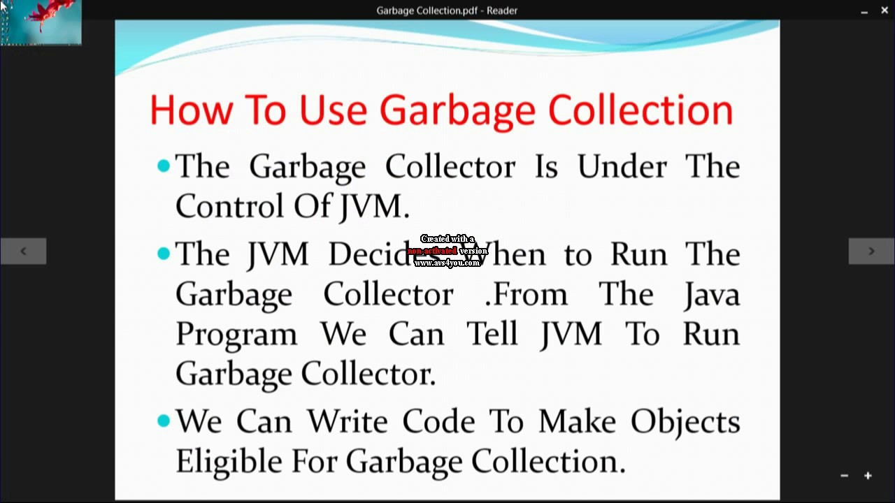 Java garbage collection tutorial gallery any tutorial examples java garbage collection with example youtube java garbage collection with example baditri gallery baditri Gallery