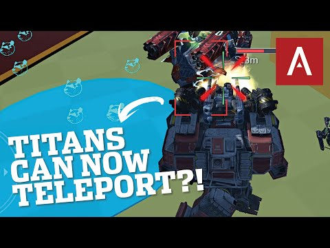 War Robots Test Server - NEW Mine Map Has Teleports?! WR Gameplay