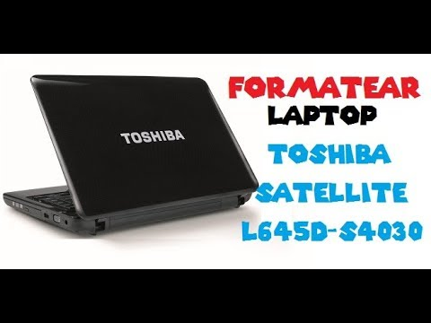 TOSHIBA SATELLITE L645D-S4030 WINDOWS 10 DRIVERS DOWNLOAD
