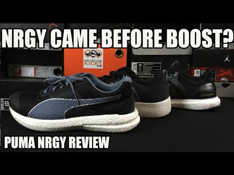 Puma NRGY Was Before adidas Boost? Review   Comparison   On Feet